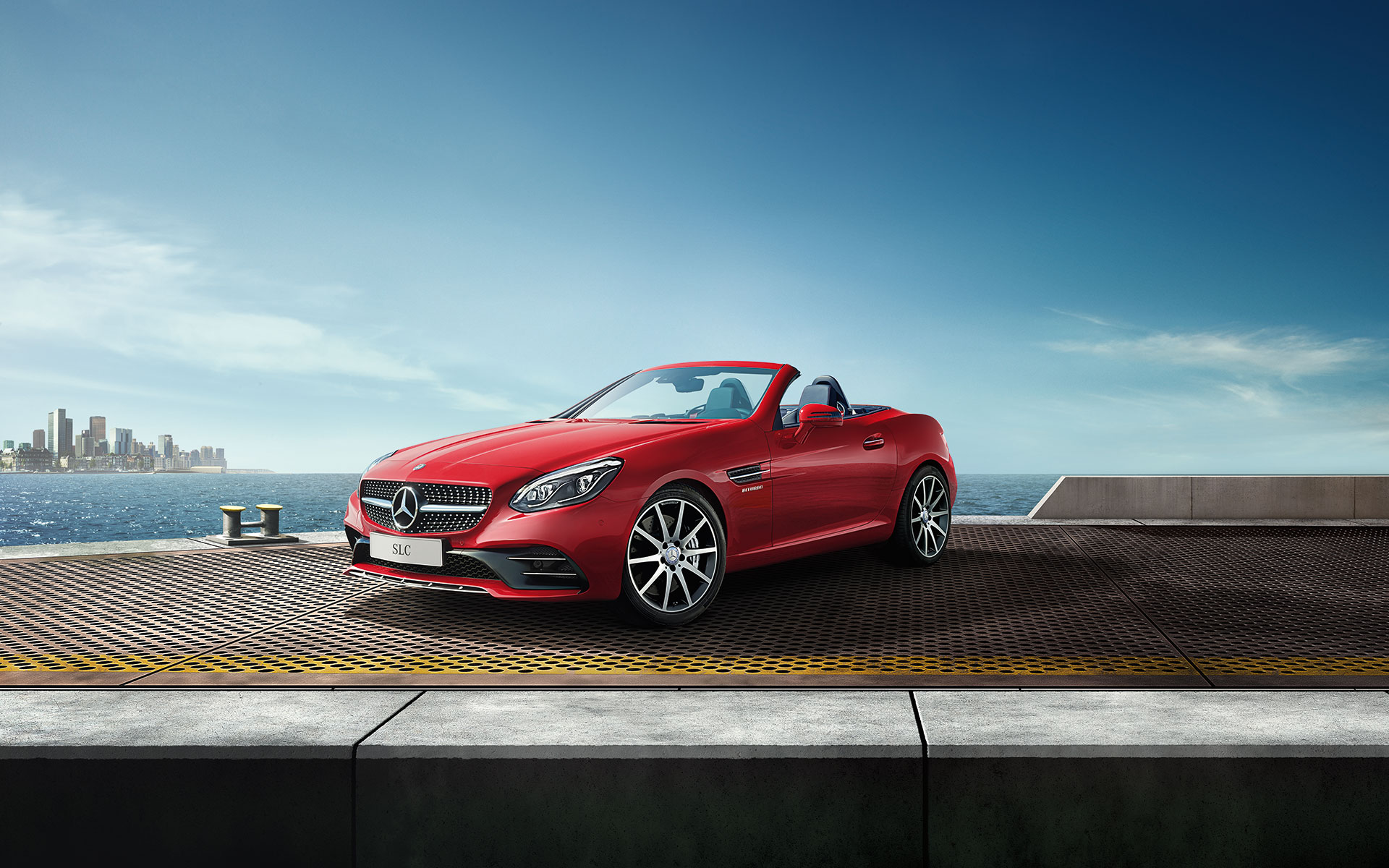 Mercedes Halm SLC