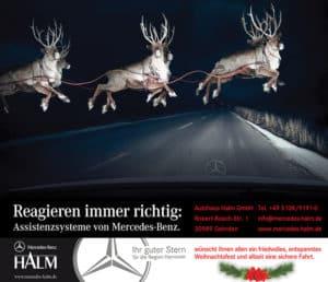 Mercedes Halm wünscht Ihnen eine schöne Adventszeit